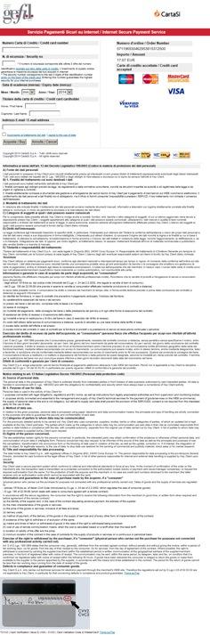 FInalizzazione pagamento oline_Come non realizzare un sistema di pagamento