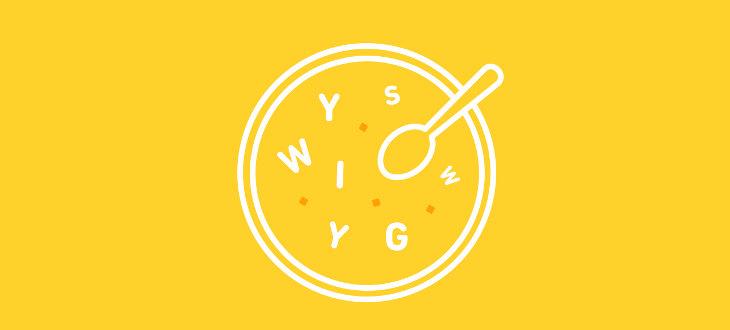 editor-WYSIWYG