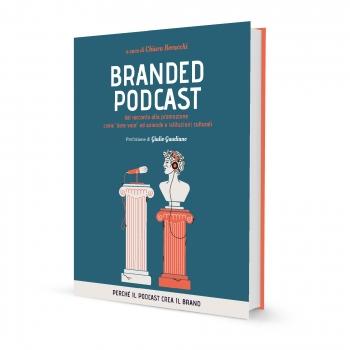 Copertina Libro Branded Podcast